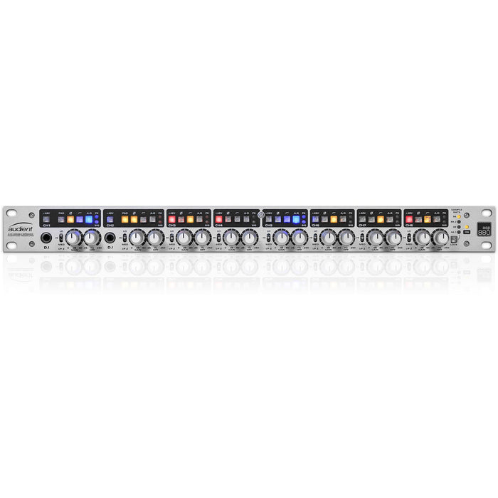 Audient ASP880 - 8-Channel Class-A Mic Pre with ADC - B-Stock