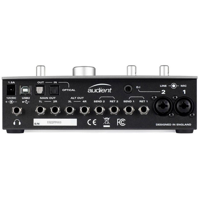 Audient iD22 - 10in/14out Desktop Audio Interface and Monitor Controller