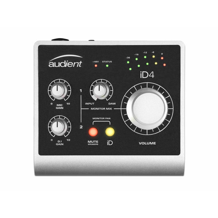 Audient iD4 - 2 in 2 out High Performance USB Interface with Scroll Control