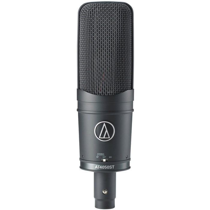Audio Technica AT4050ST - Stereo Multi Pattern Studio Microphone with Shock mount