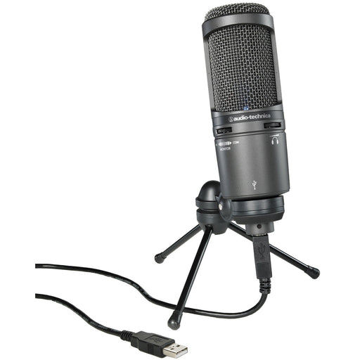 Audio Technica AT2020 USB+ - USB cardioid condenser microphone w/headphone output