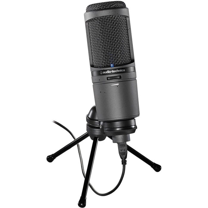 Audio Technica AT2020USBi - USB Cardioid Condenser Large Diaphragm Microphone w/Headphone Output (Default)