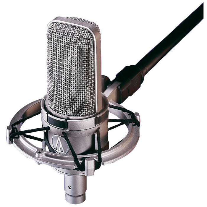 Audio Technica AT4047 SVSM Cardioid Condenser Microphone with Shockmount.