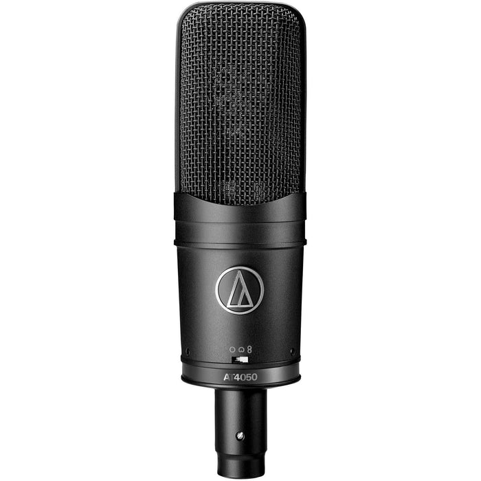 Audio Technica AT4050SM - Multi-pattern Condenser Large Diaphragm Mic with AT8449 Shock Mount