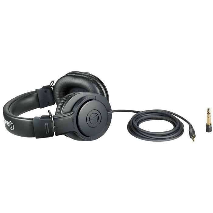 Audio Technica ATH-M20X - Professional Studio Monitor Headphones