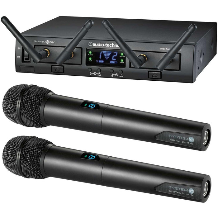 Audio Technica ATW-1322 - System 10 Pro - Dual Channel Handheld System