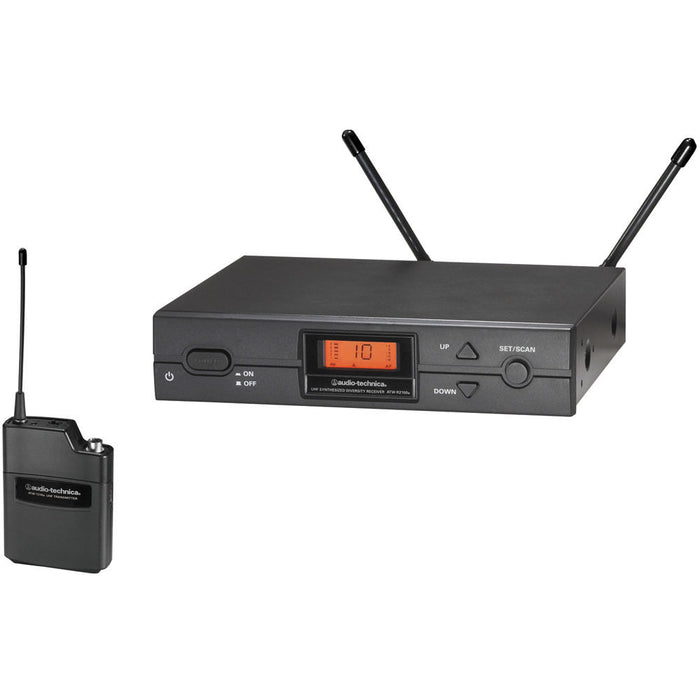 Audio Technica ATW-2110A - 2000a Series UniPak system - (Channel 38)