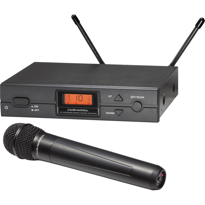 Audio Technica ATW-2120A Handheld Radio Mic System (Channel 38)