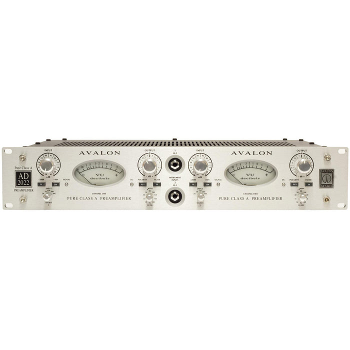 Avalon AD 2022 Dual Class A Mic Pre Amplifier