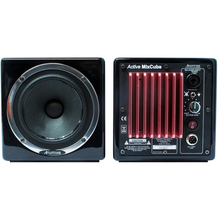 Avantone MixCubes Active Reference Monitor PAIR - Black