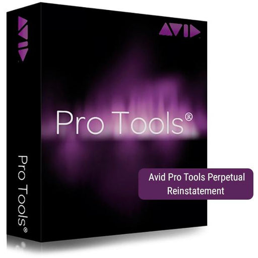 Avid Pro Tools Perpetual Reinstatement