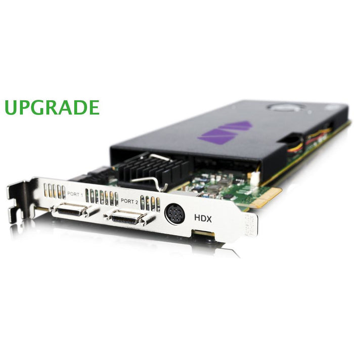 Avid Pro Tools HDX PCIe card exchange upgrade from HD Native