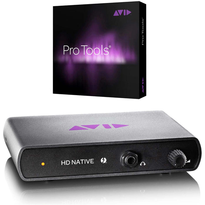 Avid Pro Tools HD Native Thunderbolt With Pro Tool HD Software - Education