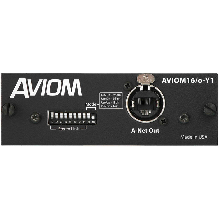 Aviom16/o-Y1 A-Net Card for Yamaha