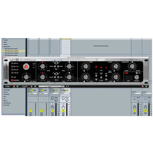 Bettermaker EQ232P - Digitally Controlled Stereo Analogue EQ