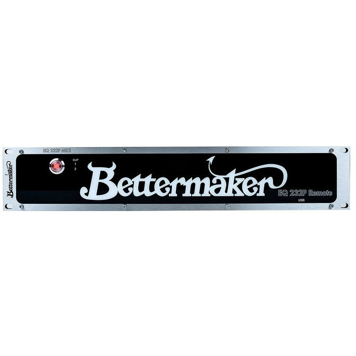 Bettermaker EQ232P Remote - Plug-On Controlled Stereo Analogue EQ