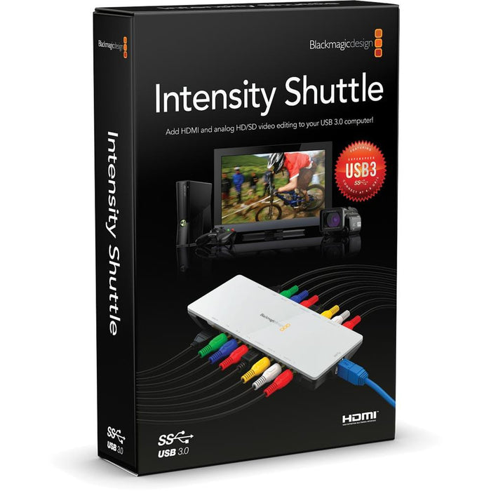 Blackmagic Design Intensity Shuttle Usb 3 0 Studiocare