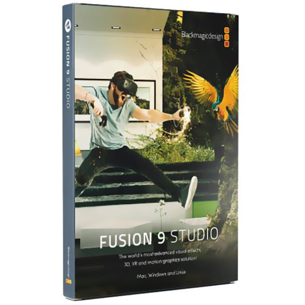 Blackmagic Fusion Studio 9