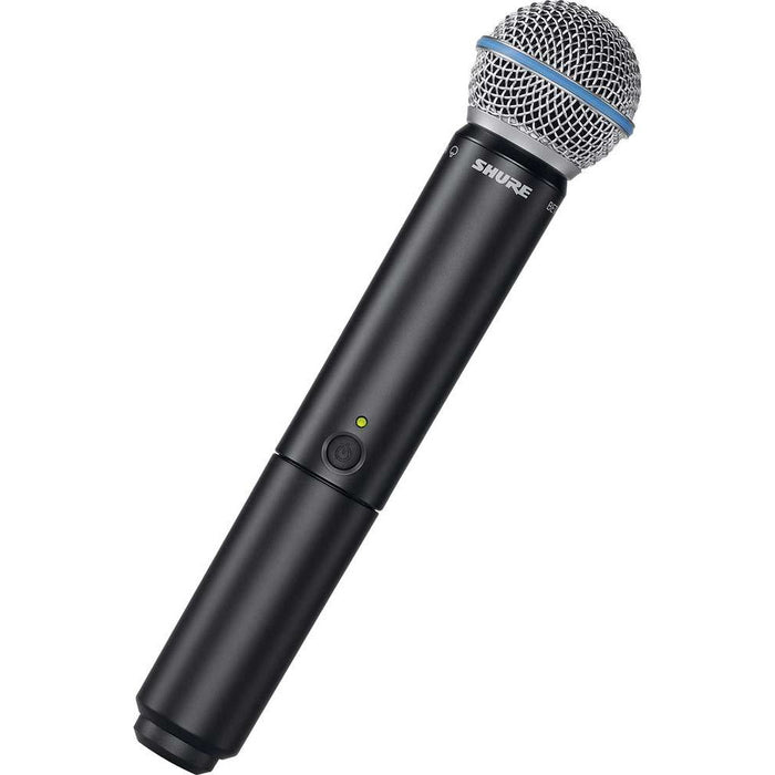 Shure BLX288UK/B58 - BLX288 Dual Vocal System w/BETA58 Handheld Transmitter