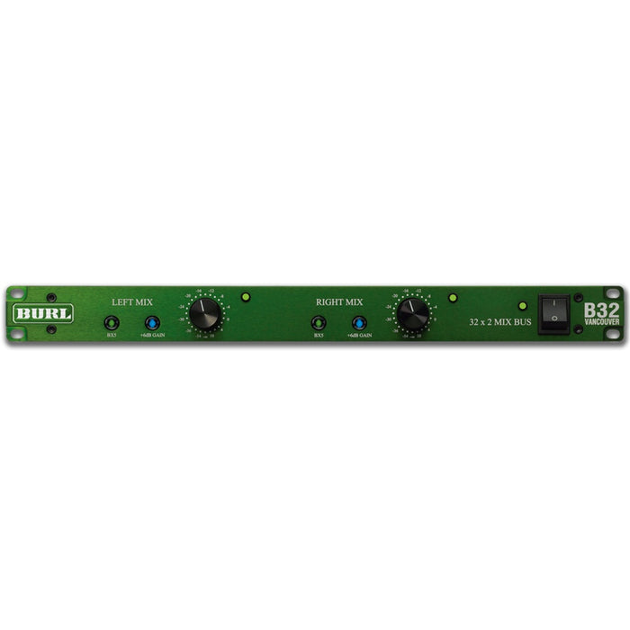 Burl B32 Vancouver - 32 Channel Stereo Mix Bus Front