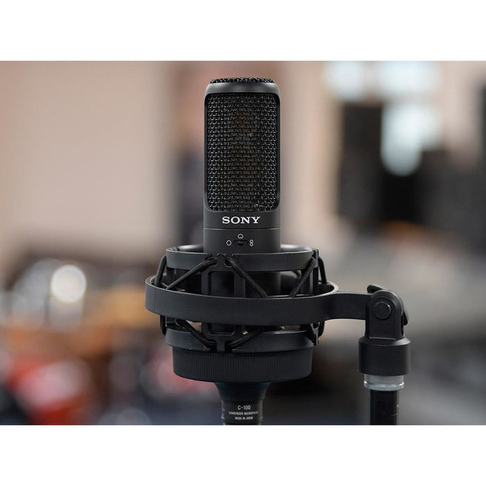 Sony C-100 Hi-Res Condenser Microphone - B-Stock