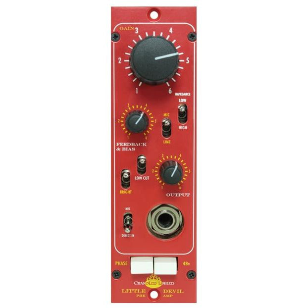 Chandler Little Devil PreAmp - 500 Series Module