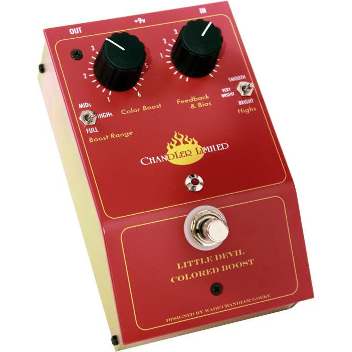 Chandler Little Devil Coloured Boost - Guitar Pedal