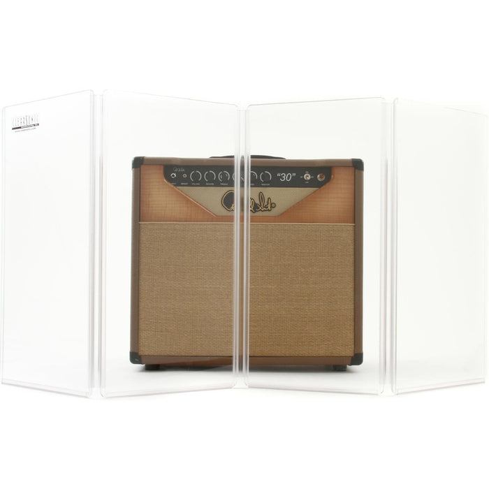 Clearsonic A2-4 - 2 ft high/1ft wide - 4 Section Isolation transparent panels