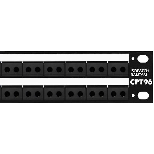 Signex Isopatch Bantam Patchbay Rear D Sub Palladium Contacts