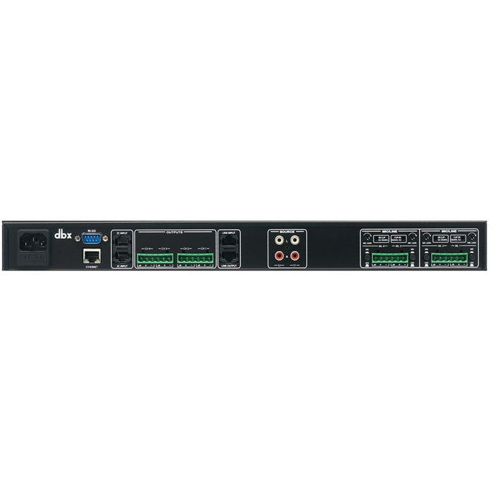 DBX Zone Pro 640M - 6x4 Zone Processor with 4 x Mic/Line