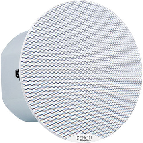 Denon DN-108S - 8 Inch Commercial Grade Ceiling Speaker - Single Front Angle