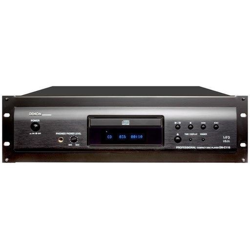 Denon DN-C110P CD Player - 3U with Rack-Kit