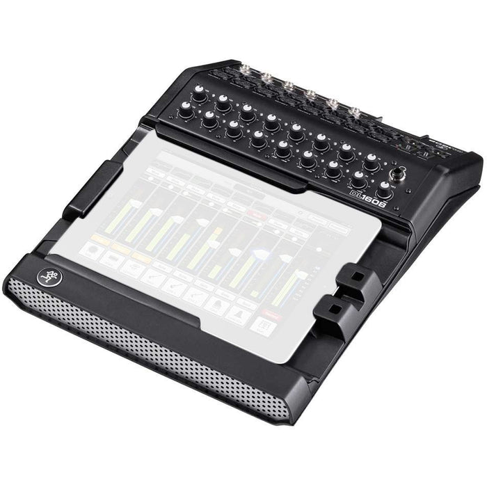 Mackie DL1608 - 16-Channel Digital Mixer with iPad Control - Lightning versions Front Angle