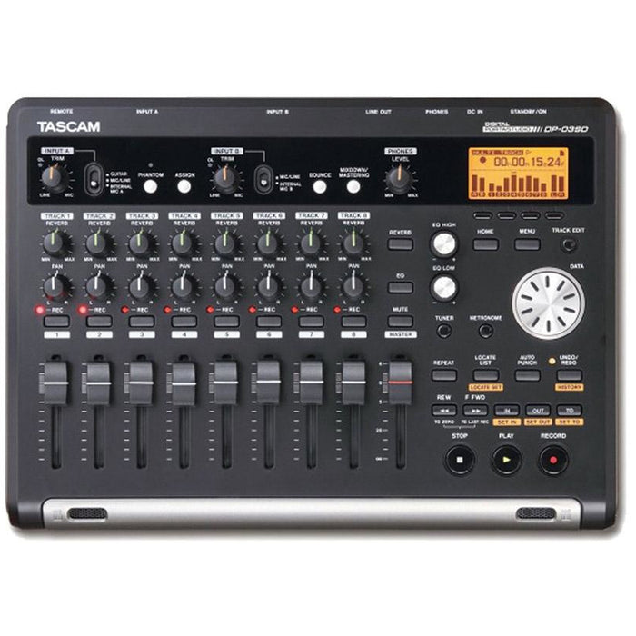 Tascam DP-03SD - 8-track digital Portastudio