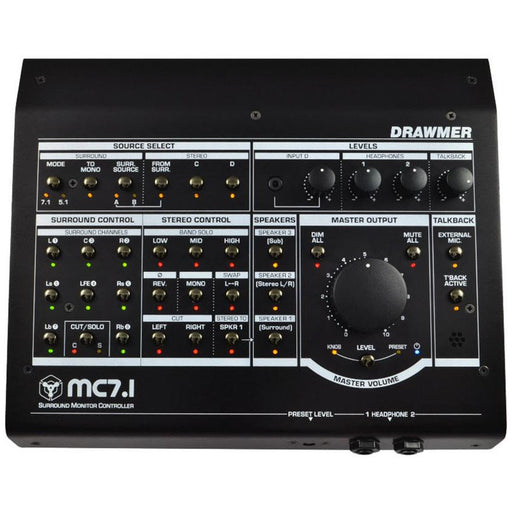 Drawmer MC7.1 Surround Monitor Controller