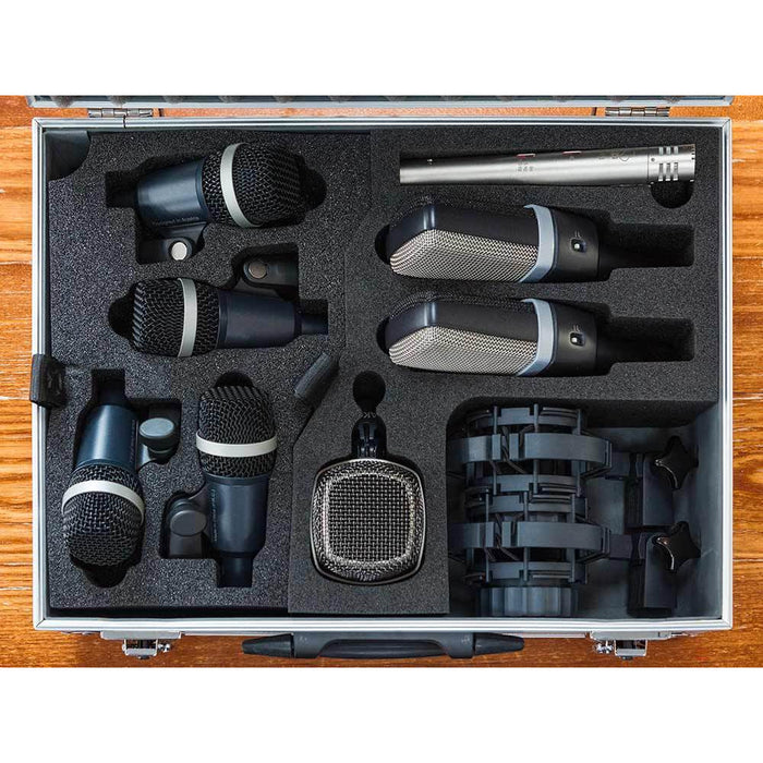 AKG Drumset Premium - Premium Selection Of AKG Microphones - Ltd Special Offer