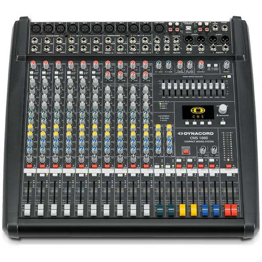 Dynacord CMS1000-3 Mixing Desk 10 Input with USB and Digital Effects