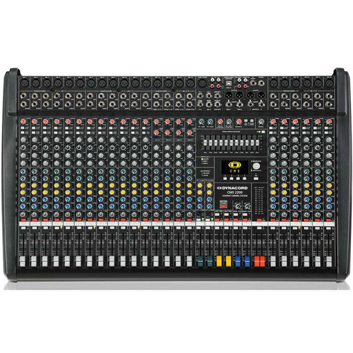 Dynacord CMS2200-3 Mixing Desk 22 Input with USB and Digital Effects