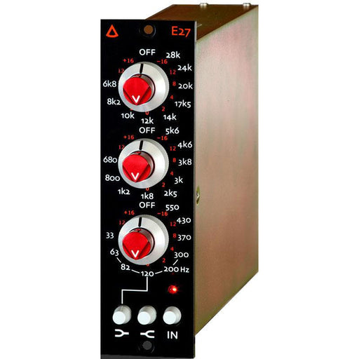 Avedis E27 - Discrete 3-Band Transformer Balanced EQ - 500-Series Module