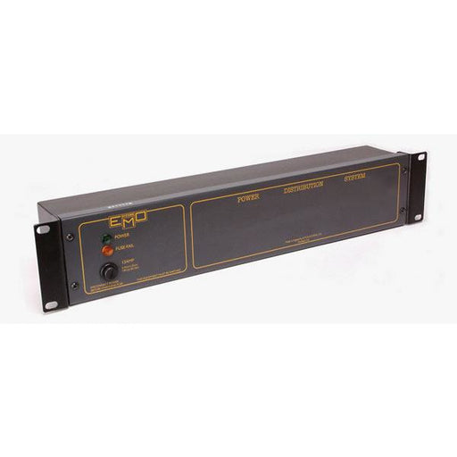 EMO Systems E650 IEC mains distribution panel 2U rackmount