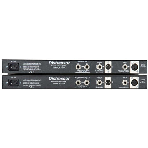 Empirical Labs EL8XS - Distressor Stereo Pair inc British Mode