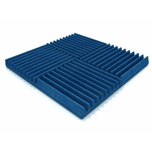 EQ Acoustics Classic Wedge 30 B - 30cm Foam Tile - Blue (16 Pack)