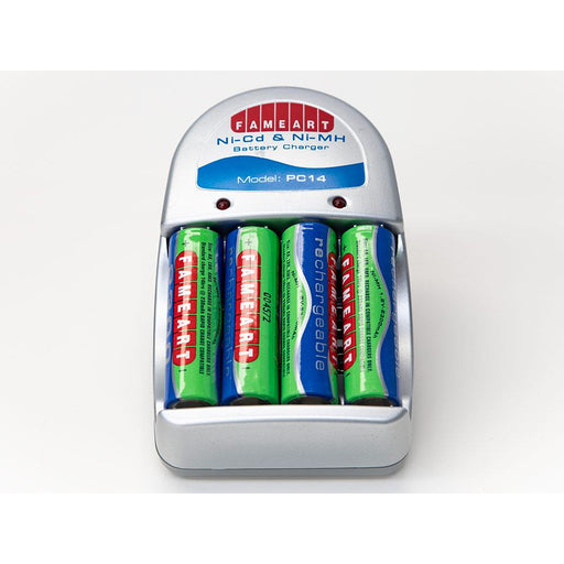 Fameart 4 cell battery charger
