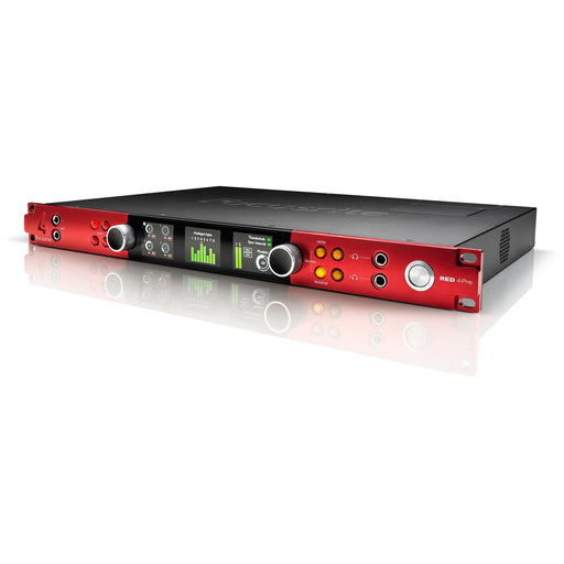 Focusrite RED 4 Pre - 58-in / 64-out Thunderbolt 2, audio Interface
