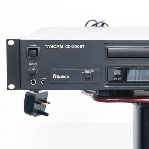Tascam CD-200BT - CD player with Bluetooth receiver - Used