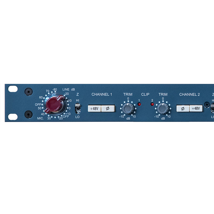AMS Neve 1073 DPD Dual Mic Pre Amp with Digital Output