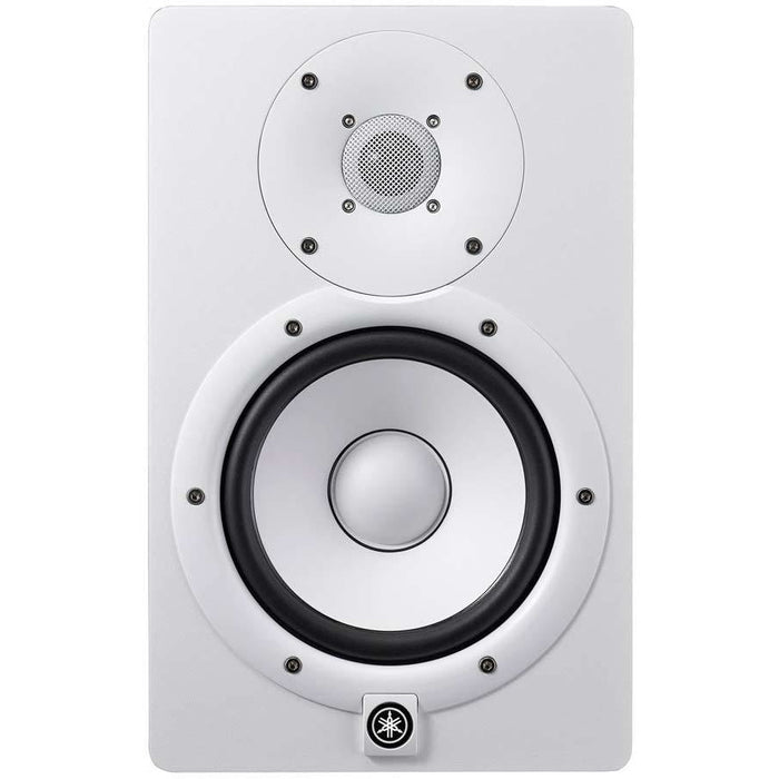 Yamaha HS7 - Active 2-way bass-reflex bi-amplified nearfield studio monitor (white)