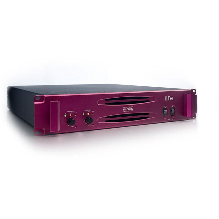 Full Fat Audio FFA-10000 Power Amp Front Angle
