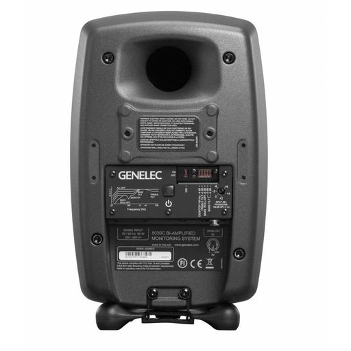 Genelec 8030C Compact 2-Way Active Nearfield Monitor Matt Black - Each