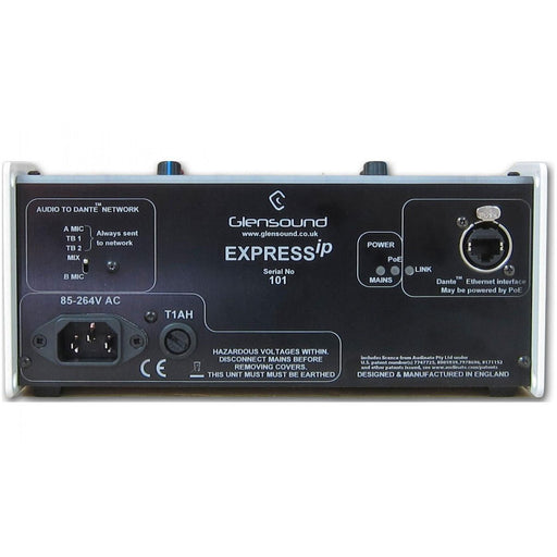 Glensound  Express ip Two User Commentary Unit With Dante